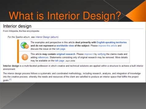 what is interior design
