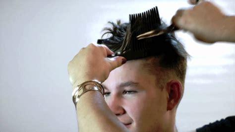 Model Anton new classic hair style James Dean look