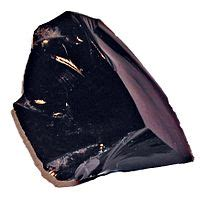 Batu Obsidian Lava obsidian bahasa indonesia ensiklopedia bebas