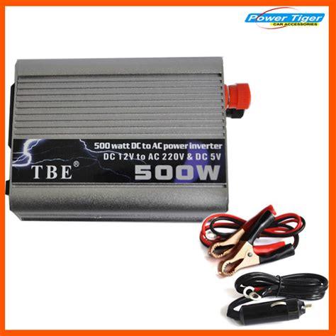 Power Inverter Tbe 500 Watt Perubahan Arus Ac Ke Listrik Dc 500w watt dc 12v to ac 220v power inverter car in pakistan hitshop