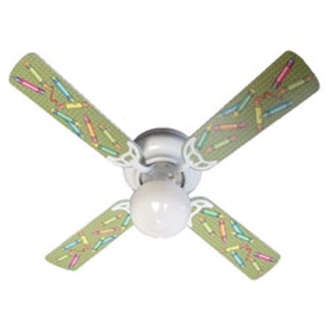 Crayon Ceiling Fan by Colorful Crayons Ceiling Fan