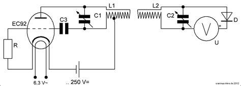 germanium diode einsatz urm resonanzabstimmung eines schwingkreises hochfrequenz