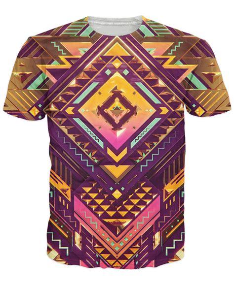 pattern t shirt golden pattern t shirt geometric design 3d print t shirt