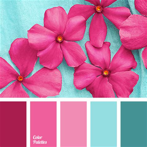 colours that go well with light pink pink and blue color palette ideas