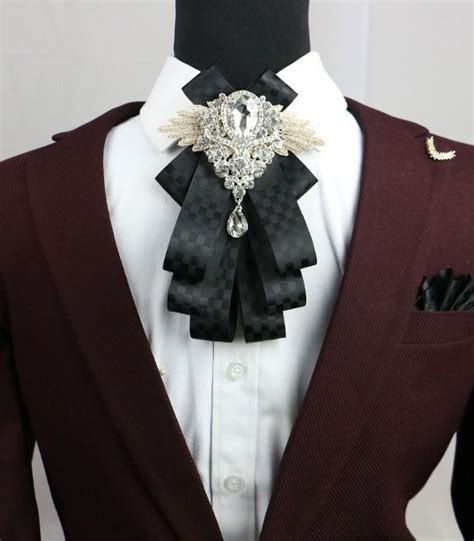 Bros Rhinestone Kupu Kupu Ekslusif wedding plaids checks rhinestone pre