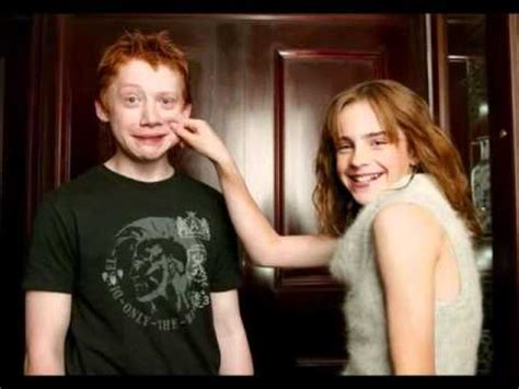 emma watson and rupert grint engaged rupert and emma valentine youtube