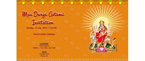 Mata Ki Chowki Invitation Template Invitationswedd Org Mata Ki Chowki Invitation Template