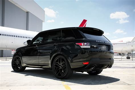 range rover sport black range rover sport exclusive motoring miami exclusive