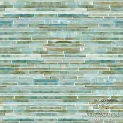 Upholstery Fabric Teal Tatami Mist Jewel Glass Mosaic Tile Other Metro By