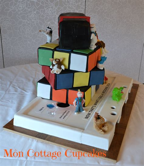 Themed Wedding Cakes by 90 S Themed Wedding Cake Cakecentral
