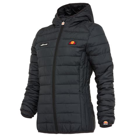 Padded Coat ellesse lompard womens padded quilted winter jacket