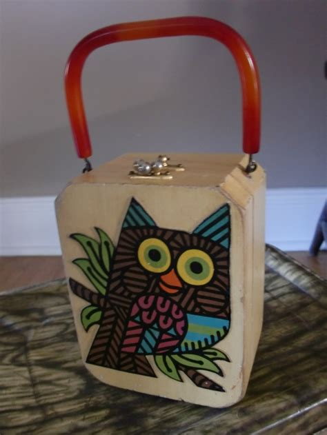 Decoupage Clutch Owl 17 best images about vintage bags on bags