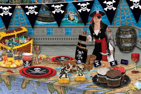 Decoration Theme Pirate by Decorating Ideas For A Pirate Themed Birthday