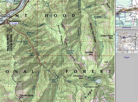 map of oregon eagle creek eagle creek oregon map