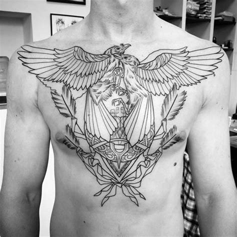 60 odin s ravens tattoo designs for men huginn and
