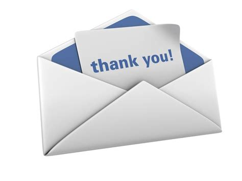 Thank You Letter Envelope Format Tips For Writing A Thank You Letter
