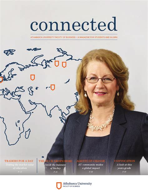 Athabasca Mba Login by Au Connected Issue 2 Digital Edition By Athabasca
