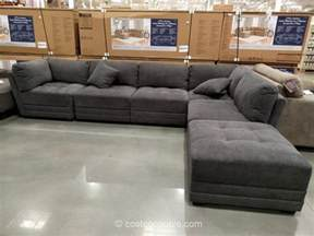 Down Filled Sofa Sectional 6 Piece Modular Fabric Sectional