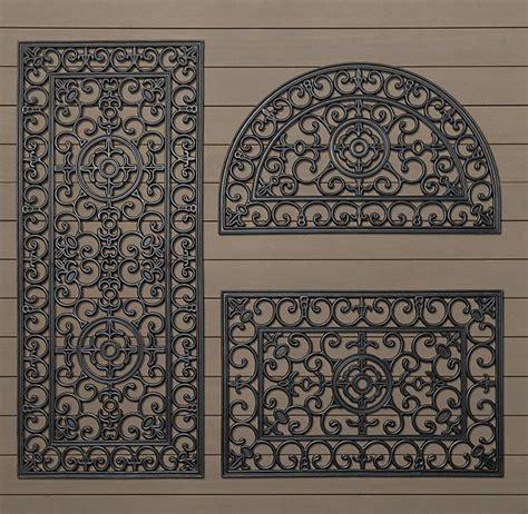 Doormat Rubber fleur de lys rubber doormat traditional doormats by bonnie manion