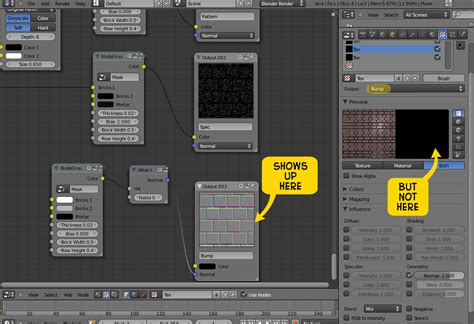 tutorial blender nodes blender 2 5 texture node problem matt jordan