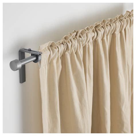 curtain rods ikea r 196 cka curtain rod silver colour 120 210 cm ikea