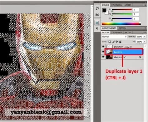 tutorial membuat typography photoshop tutorial photoshop membuat typography potrait dengan