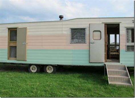 mobile homes trailers vintage mobile homes for sale 20 photos bestofhouse