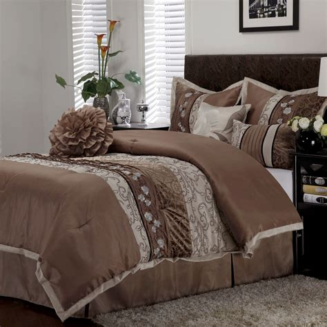 riley 7 pc comforter bed set