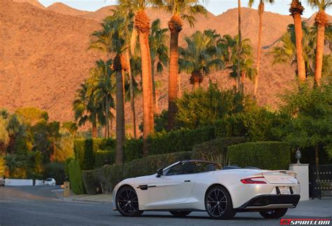 Aston Martin Palm Springs aston martin vanquish volante in palm springs california