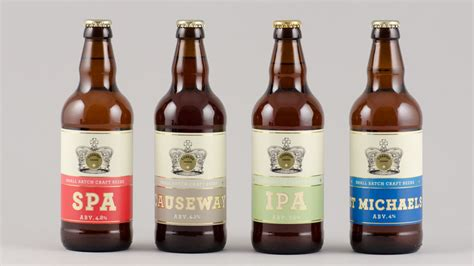 crown craft beer cornish crown small batch craft beers the dieline