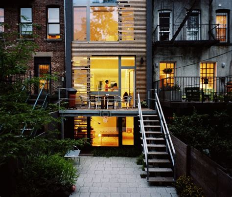best home design nyc modern townhouse archives digsdigs