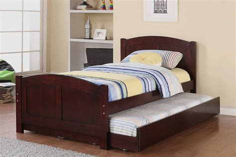 double bed with trundle trundle beds for children homesfeed