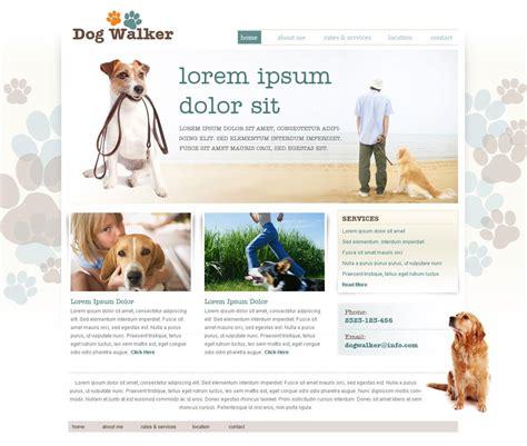 Dog Walking Website Template Free Dog Walker Templates Phpjabbers Free Walking Templates