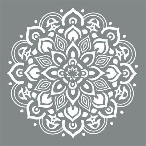 stencils for home decor decoart americana decor 10 in x 10 in mandala stencil