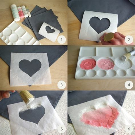 How To Make Ombre Paper - diy valentine s day ombre napkins julep