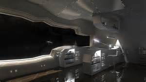Interior Home Spaces home wallpapers digital artwork futuristic interior outer space room