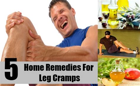 leg crs home remedies causes symptoms cures