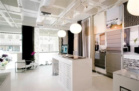 Modern Bathroom Los Angeles Showroom Retail Shop Interior Design Of The Shade Store Showroom In