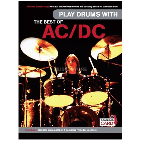 the best of ac dc wise publications play drums with the best of ac dc