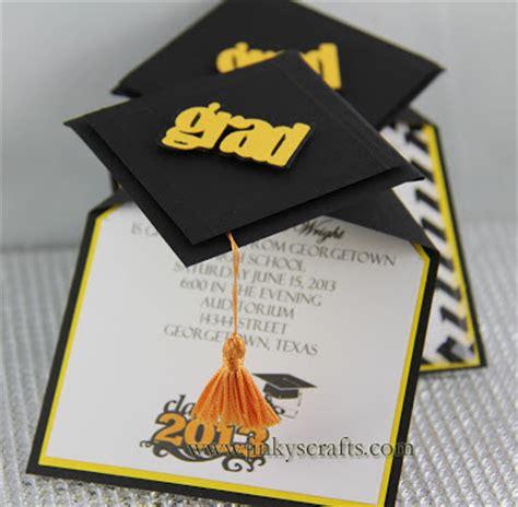 graduation pop up card template pdf jinky s crafts designs 3d graduation cap pop up invitations