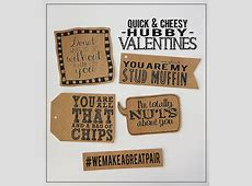 Quick & Cheesy Hubby Valentines - Eighteen25 Manly Gifts For Him