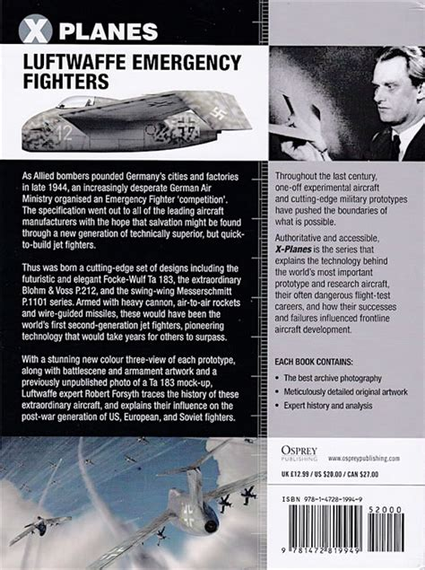 libro luftwaffe emergency fighters blohm osprey publishing x planes 4 luftwaffe emergency fighters book review by brad fallen