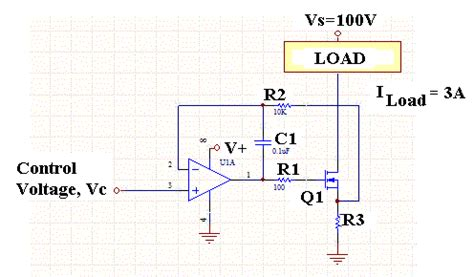 current controlled resistor voltage controlled current source is this linear or switching