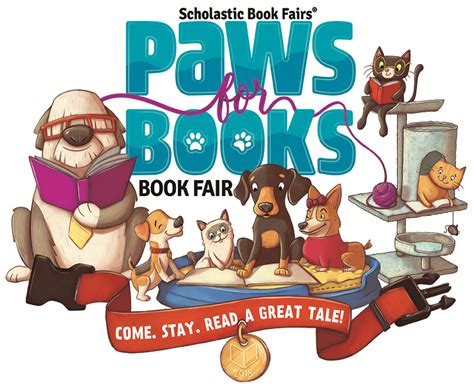 scholastic year in sports 2018 books paws for books book fair come stay read a great tale