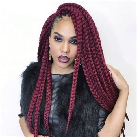 red and black poetic justice braids pink poetic justice braids www imgkid com the image