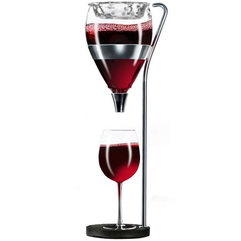vagnbys table tower aerating wine dispenser so that s cool