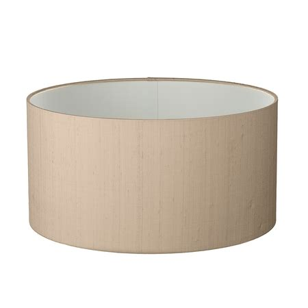 60cm drum l shade drum shallow 60cm silk shade
