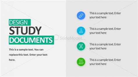 Clinical Trial Design Study Powerpoint Slidemodel Clinical Presentation Template