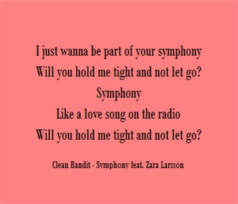 lyrics dan arti clean bandit symphony feat zara larsson me lirik