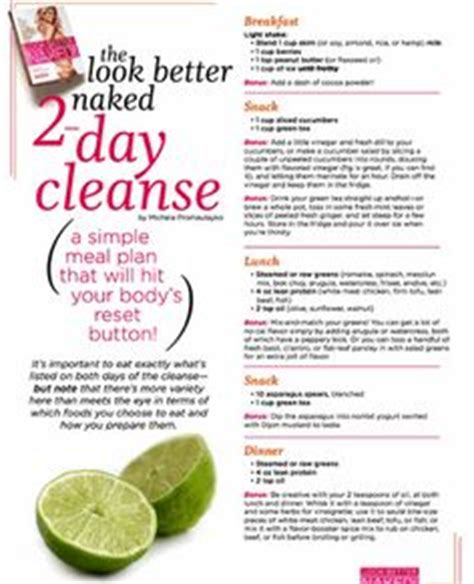 Emergency Detox Diet by House Cleaning House Cleaning Diet Plan Weekly